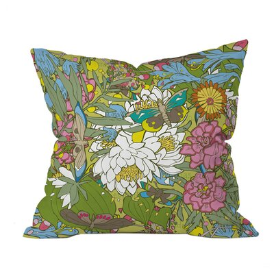 Geronimo Studio Butterflies Outdoor Throw Pillow