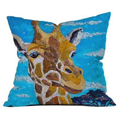 Tall As Treetops Outdoor Throw Pillow