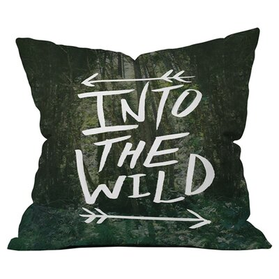 Leah Flores into the Wild 1 Outdoor Throw Pillow