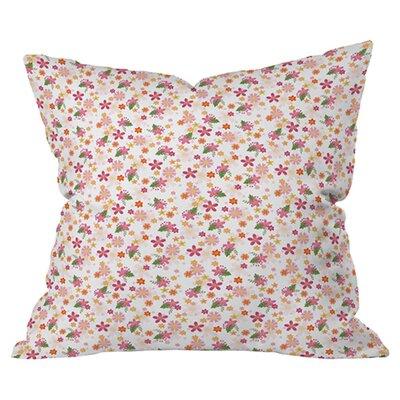 Jennifer Denty Genevieve Florals Ditsy Outdoor Throw Pillow