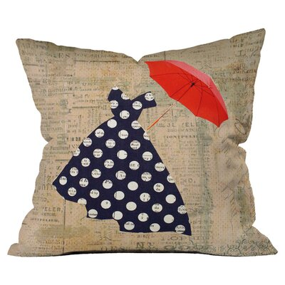 Irena Orlov Umbrella Outdoor Throw Pillow