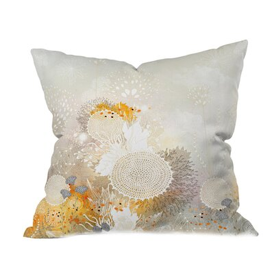 Iveta Abolina Velvet Outdoor Throw Pillow