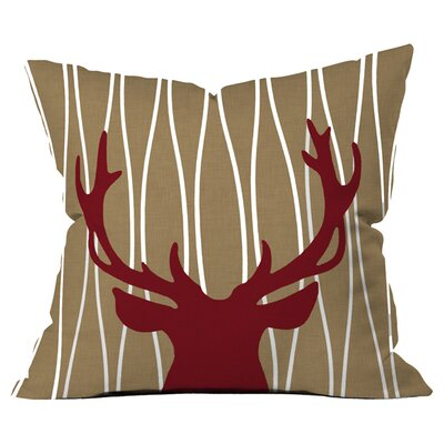 Natt Lines Outdoor Throw Pillow