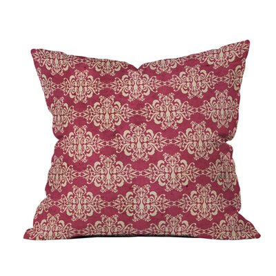 Arcturus Damask Outdoor Throw Pillow