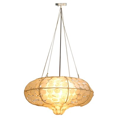 Grand Capis 1-Light Drum Pendant