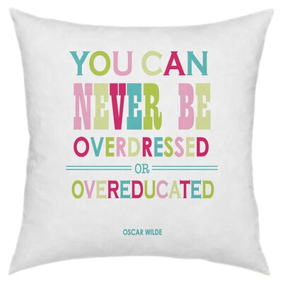 Overdressed Throw Pillow