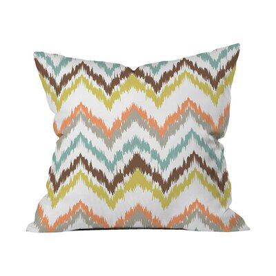 Andrea Victoria Garden Breeze Outdoor Throw pillow Size: 18 H x 18 W x 5 D