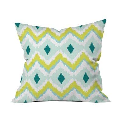 Andrea Victoria Caicos Zig Zag Outdoor Throw Pillow Size: 18 H x 18 W x 5 D