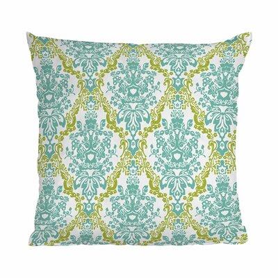Rebekah Ginda Design Lovely Damask Outdoor Throw Pillow Size: 18 H x 18 W x 6 D