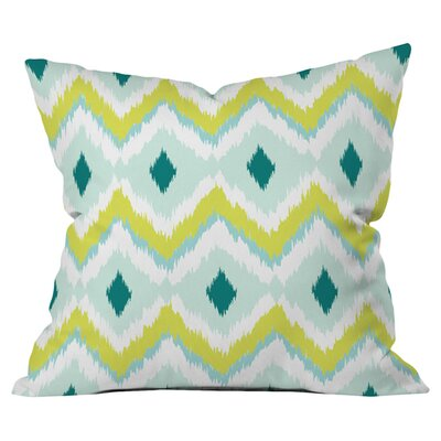 Andrea Victoria Caicos Zig Zag Outdoor Throw Pillow Size: 26 H x 26 W x 5 D