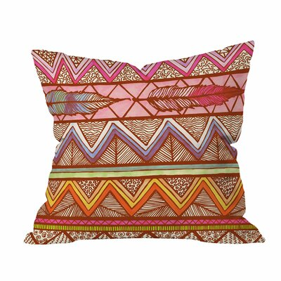 Lisa Argyropoulos Two Feathers Outdoor Throw Pillow