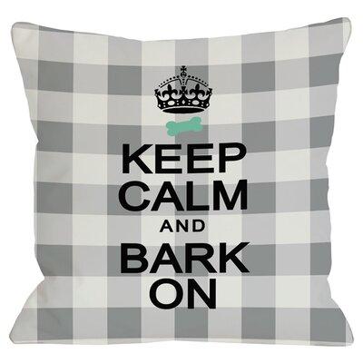 Bark On Throw Pillow