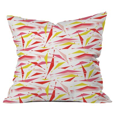 Heather Dutton Swizzlestick Punchbowl Outdoor Throw Pillow