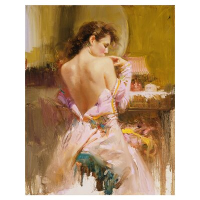 'Ballgown' Print of Painting on Canvas Pino Ballgown Large