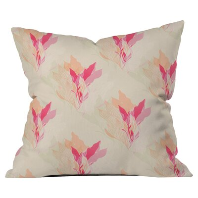 Aimee St Hill Coral 1 Outdoor Throw Pillow