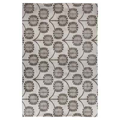 Holli Zollinger Thistle Gray Area Rug Rug Size: 2 x 3