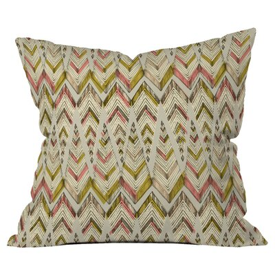 Pattern State Pyramid Line West Outdoor Throw Pillow