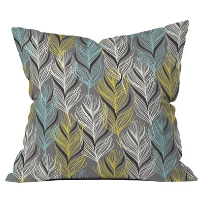 Mary Beth Freet Haute Home Feathers Outdoor Throw Pillow