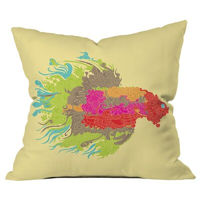 Martin Bunyi Beta Outdoor Throw Pillow Size: 16 H  x 16 W x 5 D