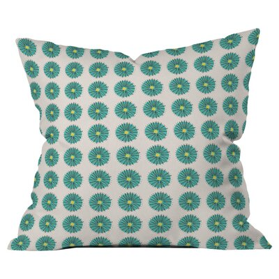 Mummysam Flowers 1 Outdoor Throw Pillow Size: 18 H x 18 W x 5 D