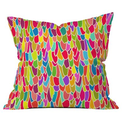 Sharon Turner Tickle Me Outdoor Throw Pillow Size: 18 H x 18 W