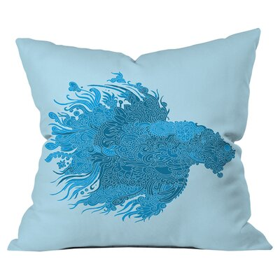 Martin Bunyi Beta Outdoor Throw Pillow Size: 18 H  x 18 W x 5 D