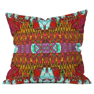 Ingrid Padilla Charisma Outdoor Throw Pillow Size: 18 H x 18 W x 5 D
