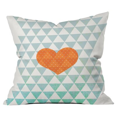 Hello Twiggs a Love Affair Outdoor Throw Pillow Size: 18