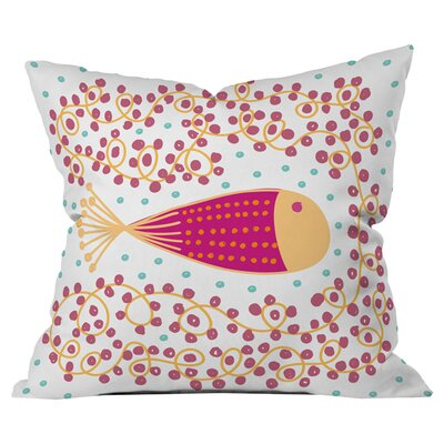 Gabriela Larios Ovopez 1 Outdoor Throw Pillow Size: 18 H x 18 W