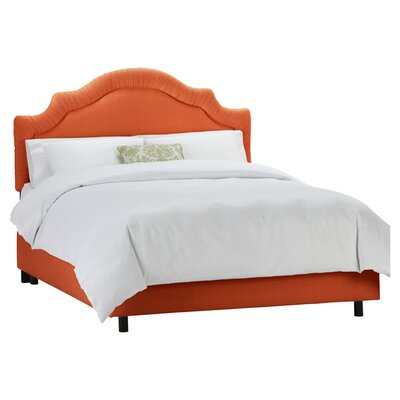 Ashlyn Polyester Upholstered Panel Bed Size: King
