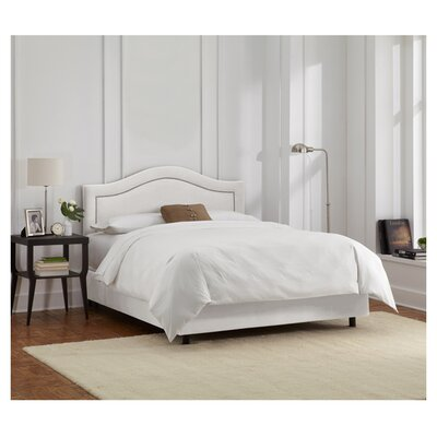 Limoges Upholstered Panel Bed Size: Queen