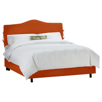Clarita Polyester Upholstered Panel Bed Size: King