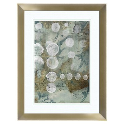 Circles Framed Painting Print 2-11393b