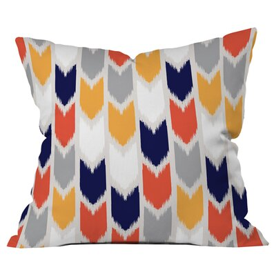 Andrea Victoria Tribu Arrows Outdoor Throw Pillow