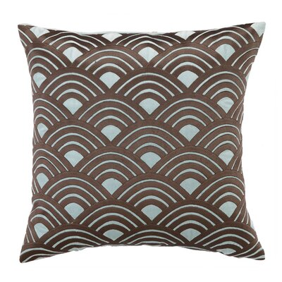 Quincy Throw Pillow Color: Blue