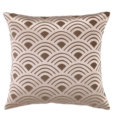 Quincy Throw Pillow Color: Brown