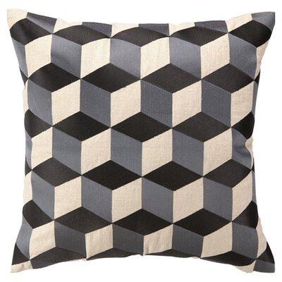 D.L. Rhein Cubisim Linen Throw Pillow