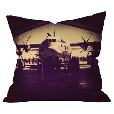 Ballack Art House Military Day Outdoor Throw Pillow