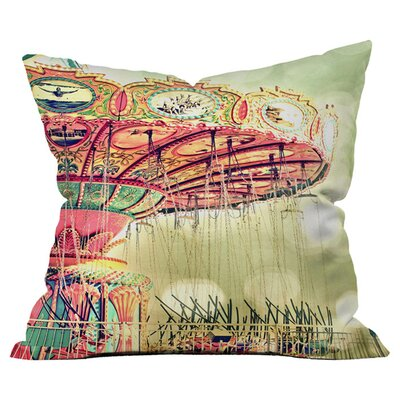 Shannon Clark Carnival Dreams Outdoor Throw Pillow