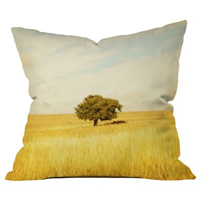 Barbara Sherman Solitary Outdoor Throw Pillow