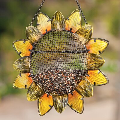 Sunflower Decorative Bird Feeder