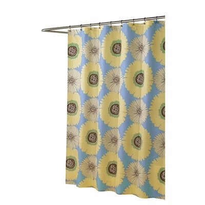 Sunflowers Microfiber Shower Curtain