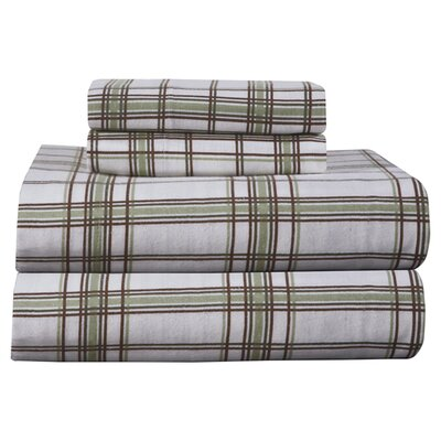 Plaid, Plaid World Flannel Sheet Set