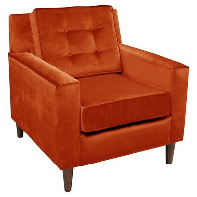 Huston Tufted Polyester Arm Chair