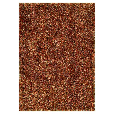 Carrera Hand-Tufted Spice Area Rug Rug Size: Rectangle 36 x 56