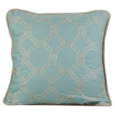Zen Throw Pillow Color: Charlotte Blue