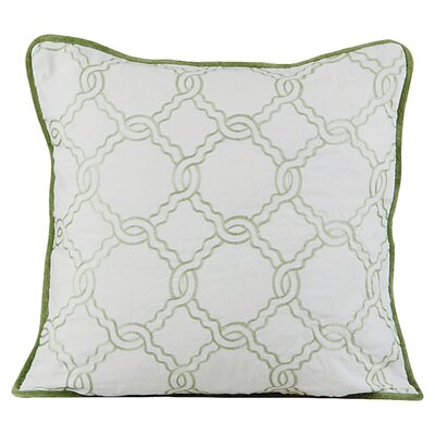Zen Throw Pillow Color: Green