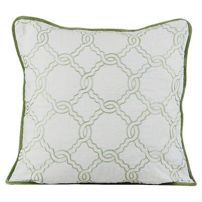 Zen Throw Pillow Color: Green
