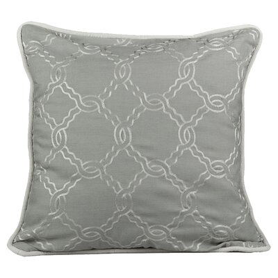 Zen Throw Pillow Color: Mist