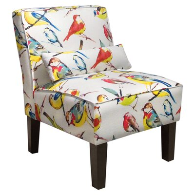 Thurston Slipper Chair Upholstery: Birdwatcher Summer